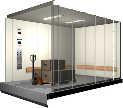 Freight Cabs Mei Total Elevator Solutions
